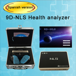 9D-NLS health analyzer Spanish version