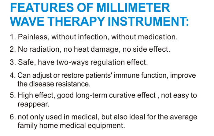 The Latest Millimeter Wave Therapy Instrument