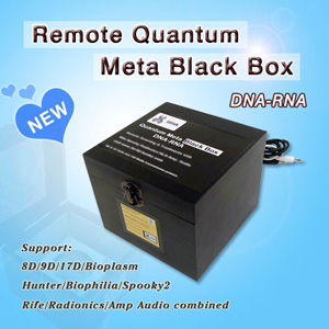 ISHA Remote Quantum Meta Black Box DNA - RNA