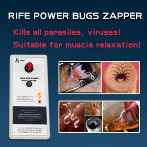 ISHA Rife Adjustable Power Bugs Zapper